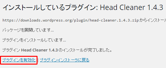 Head Cleaner有効化