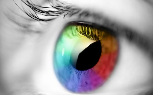 Colorful Eye, Rainbow Eye