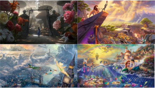 pc壁紙 - Thomas Kinkade for disney